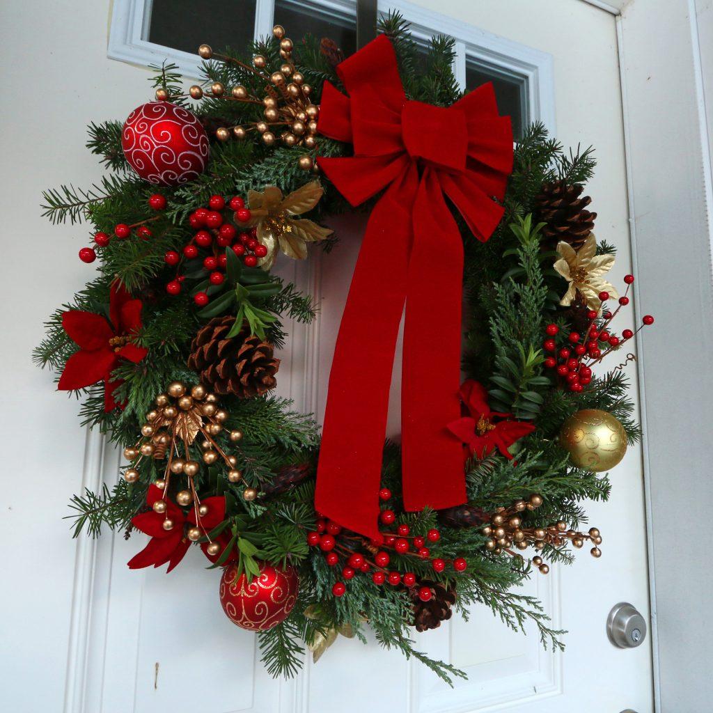 #23. Gourmet Homemade Christmas Wreath