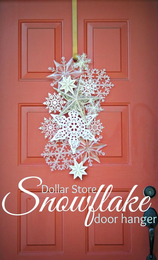 #30. Snowflake Door Hanger