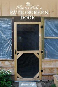 #13. A Garden Screen Door