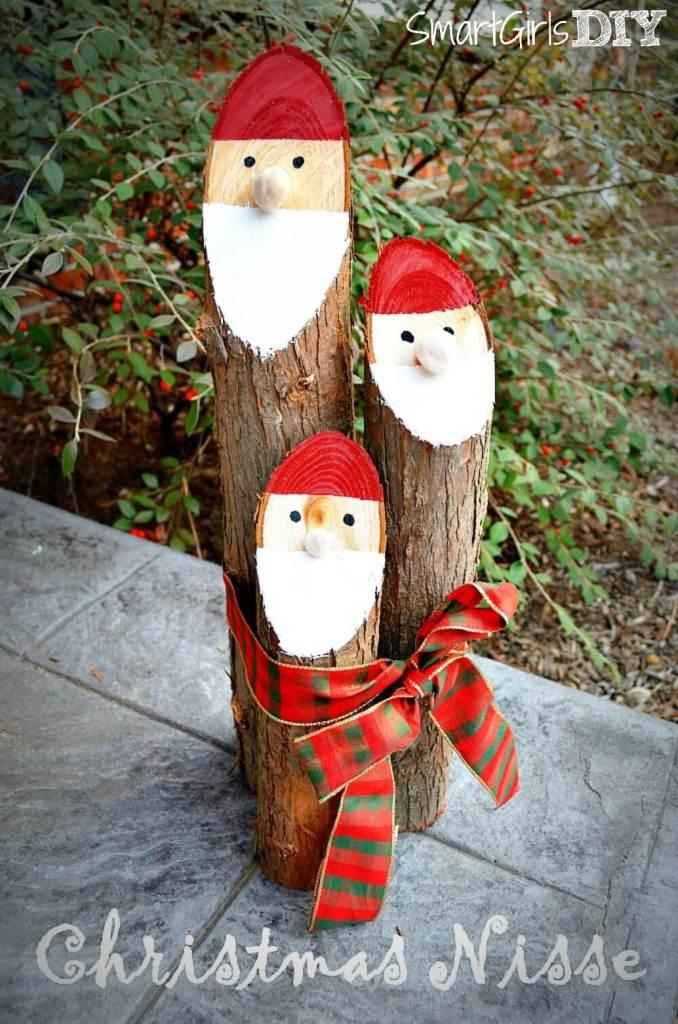 #21. Christmas Santa Logs