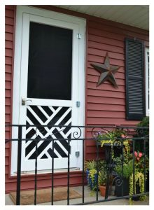 #4. Wood Screen Door Tutorial