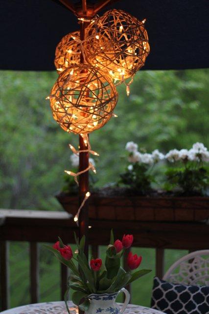 #13. Lighted Lantern DIY