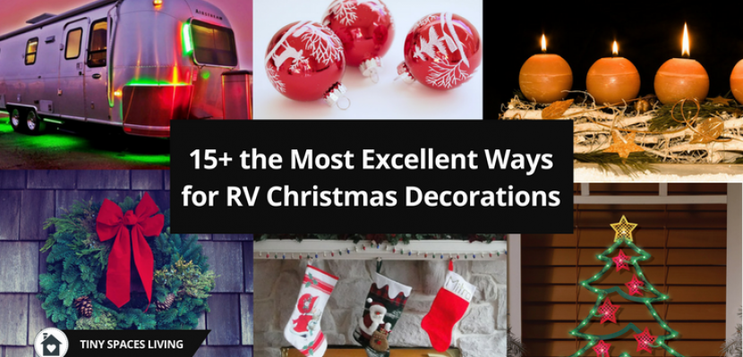 15+ the Most Excellent Ways for RV Christmas Decorations