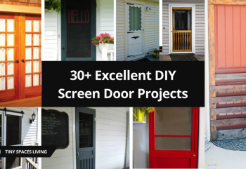 30+ Excellent DIY Screen Door Projects – You Need to Know