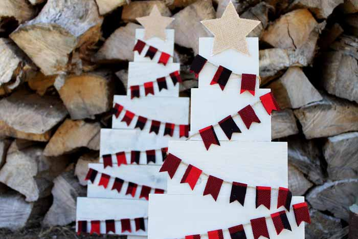 #29. Pallet Christmas Trees