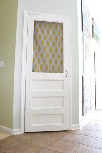 #6. Pantry Screen Door