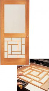 #20. Wooden Storm Door