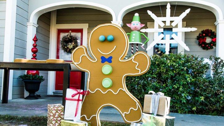 #8. DIY Gingerbread Man