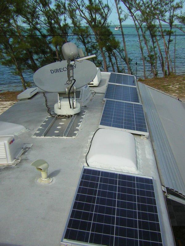 New antenna or satellite dish